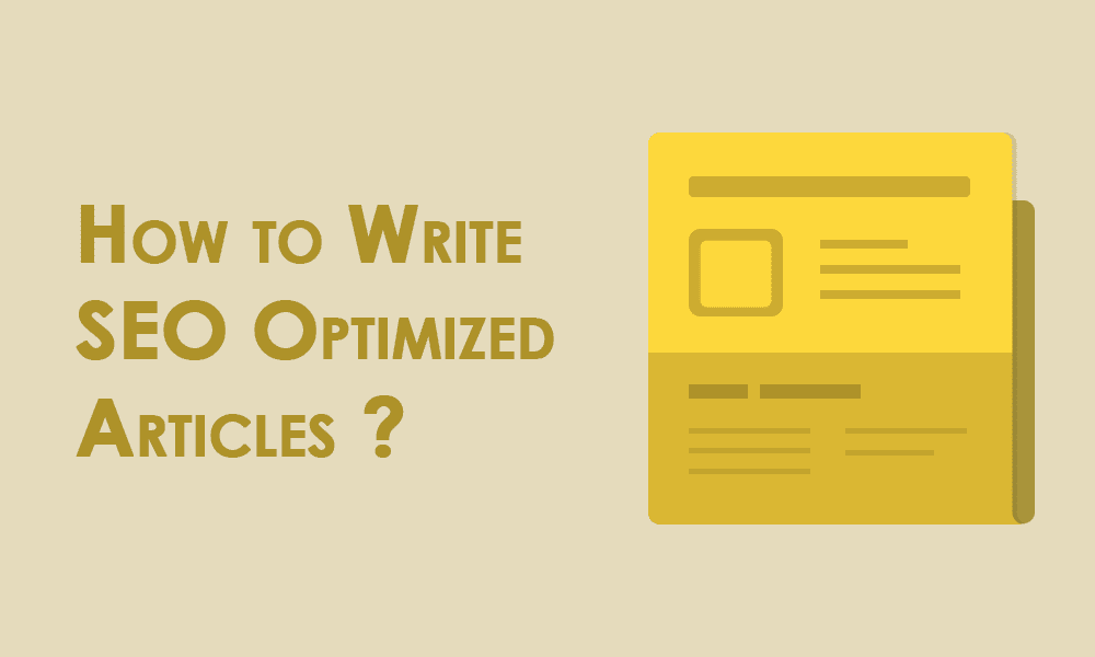 Ways to write SEO friendly Content (beginner to advanced)